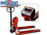 Selleton Industrial Warehouse Pallet Jack Scale With 5000 X 1 Lb