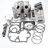 Niche Industries 2128 Honda Sportrax TRX400EX Cylinder Piston Gasket Head Camshaft Kit 1999-2008