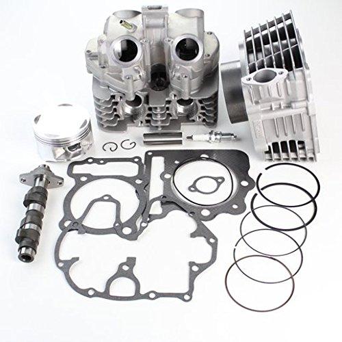 NICHE Cylinder Piston Gasket Head Camshaft Kit for Honda Sportrax TRX400EX 1999-2008