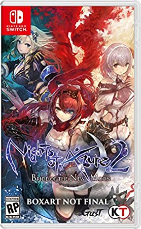 Nights of Azure 2: Bride of The New Moon - Nintendo Switch