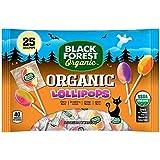Black Forest Organic Lollipops, Assorted Fruit Flavors, 8.8 Ounces