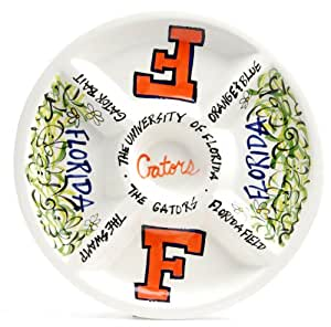Magnolia Lane College Gators Divided Veggie Tray