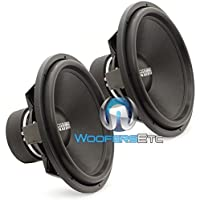 Pair of Sundown Audio SA-18 REV3 D4 18 750 Watts RMS Each Dual 4-Ohm Subwoofers