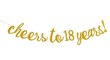 Amazon EL Cheers To 18 Years Banner