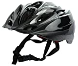 GENRIC Inmould Helmet Bicycle Adults Vogue Sport (Black)