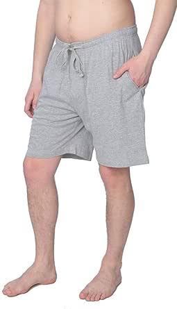 Haggar Mens Sleep Shorts Comfortable Sweater Knit Pajama Bottoms