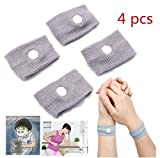 4pcs Reuseable Prevent Carsickness Nausea Seasickness Travel Wrist Bands by Abcstore99