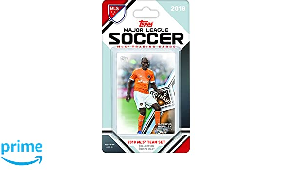 Factory Sealed Houston Dynamo  2012 MLS Upper Deck Soccer Team Set