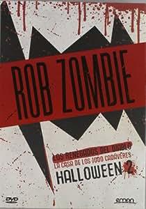 Pack: Rob Zombie (Los Renegados Del Diablo + La Casa De Los 1000 Cadáveres + Halloween Ii) [DVD]