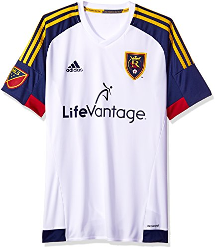 Jersey T-shirt Player Replica (MLS Real Salt Lake Men's Replica Short Sleeve Jersey, Large, White)