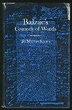 Balzac's Comedy of Words, Kanes, Martin, 069106282X