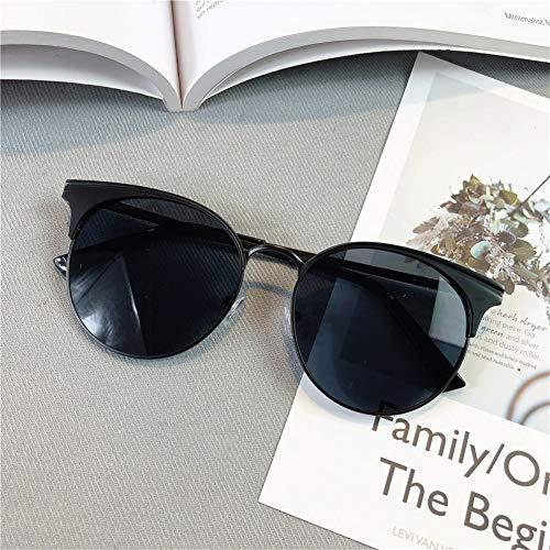 NIFG sol sol unisex moda redondas Gafas de gran de gafas de retro marco de metal prpxwqa
