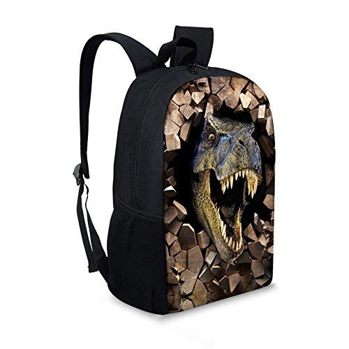 f5edad8553 Summeridea Cool 3D Animals Dinosaur Children School Book Bag Kids Printing  Backpacks