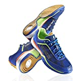 Salming Viper 3 Mens Court Shoes, Blue/Green, US Shoe Size - 9.5 US