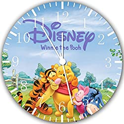 Winnie The Pooh Frameless Borderless Wall Clock W272 Nice for Gift or Room Wall Decor