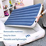 Emma + Ollie Inflatable Toddler Bed with Bed Rails