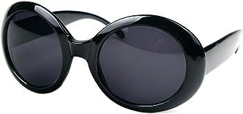2e9379d5064 Pop Fashionwear Womens Fashion Circle Round Jackie O Bold Chic Sunglasses  P547