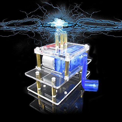 - ILS - Dynamo Hand Crank Generator Emergency Power Electronic Experimentation DIY Kit
