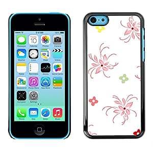 - Clean Minimalist White Floral Art - - Monedero pared Design Premium cuero del tir???¡¯???€????€???????????&AEl