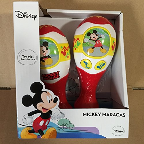 Disney Mickey Mouse Sing Along Battery Operated Maracas