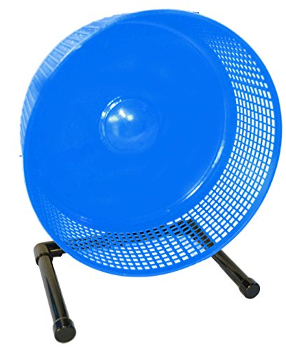 Sugar Glider Wheel--12 inch Freedom Stealth Wheel, Blue with Stand, also Great Pet Exercise Wheel for - Wheels Stealth