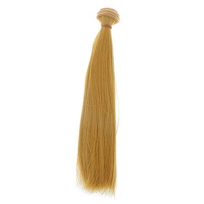 25x100cm DIY Perruque Cheveux Raides Pour 1/3 1/4 1/6 Barbie BJD Doll SD Poupée Accessoire - #5