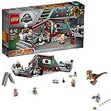 Lego Jurassic Park Velociraptor Chase