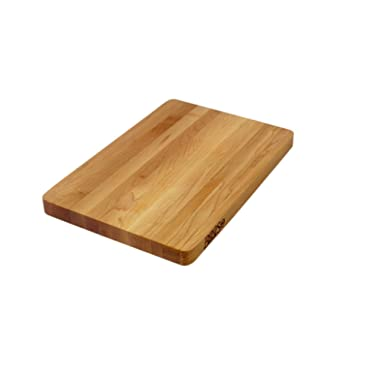 John Boos Block 215 Chop-N-Slice Maple Wood Edge Grain Reversible Cutting Board, 10 Inches x 10 Inches x 1 Inches