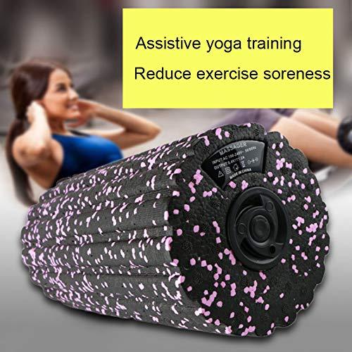 per Yoga rilassamento Muscolare Klinkamz Rullo Elettrico in Schiuma per Massaggio Vibrante Fisioterapia