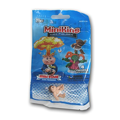 Pail Garbage Stickers (Garbage Pail Minikin Mini Figures Value Pack/Jumbo (4-Pack) Styles may vary)