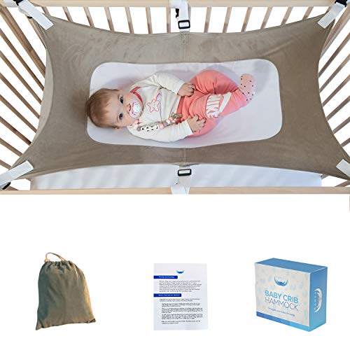 Baby Hammock for Crib - Womb in a Crib - Newborn Infant Nursery Bed - Upgraded Side Support Safety Measures from Mamea