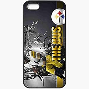 Personalized iPhone 5 5S Cell phone Case/Cover Skin 826 pittsburgh steelers 0 Black