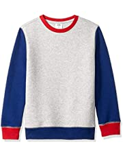Amazon Essentials Boys Crew Neck Sweatshirt