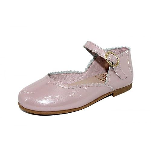 PARISITTAS Merceditas Hebilla Charol Modelo Adriana Para Niña  Amazon.es   Zapatos y complementos 8cb0c4c297632