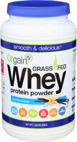 Orgain Grass Protein Powder Vanilla
