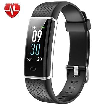 Willful Fitness Tracker pantalla de color, SW352 actividad Tracker Fitness reloj de pulsera de ritmo cardíaco ...