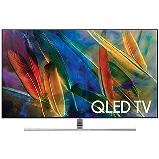 Samsung QN75Q7F Flat 75-Inch 4K Ultra HD Smart QLED TV (2017 Model) (Renewed)