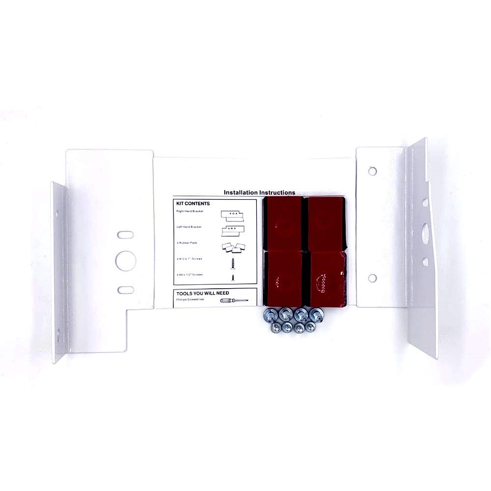 Appliance Pros GE Compatible Model GEFLSTACK Washing Machine Stacking Kit WE25X10028 - Replacement Part for GE Laundry Machines - Compatible for Front Load Washers/Dryers - Includes Instructions