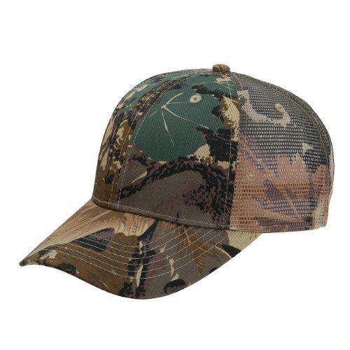 Camoflage Cotton Twill & Sandwich Visor Low Profile Pro Style Mesh Back Hat Cap ()