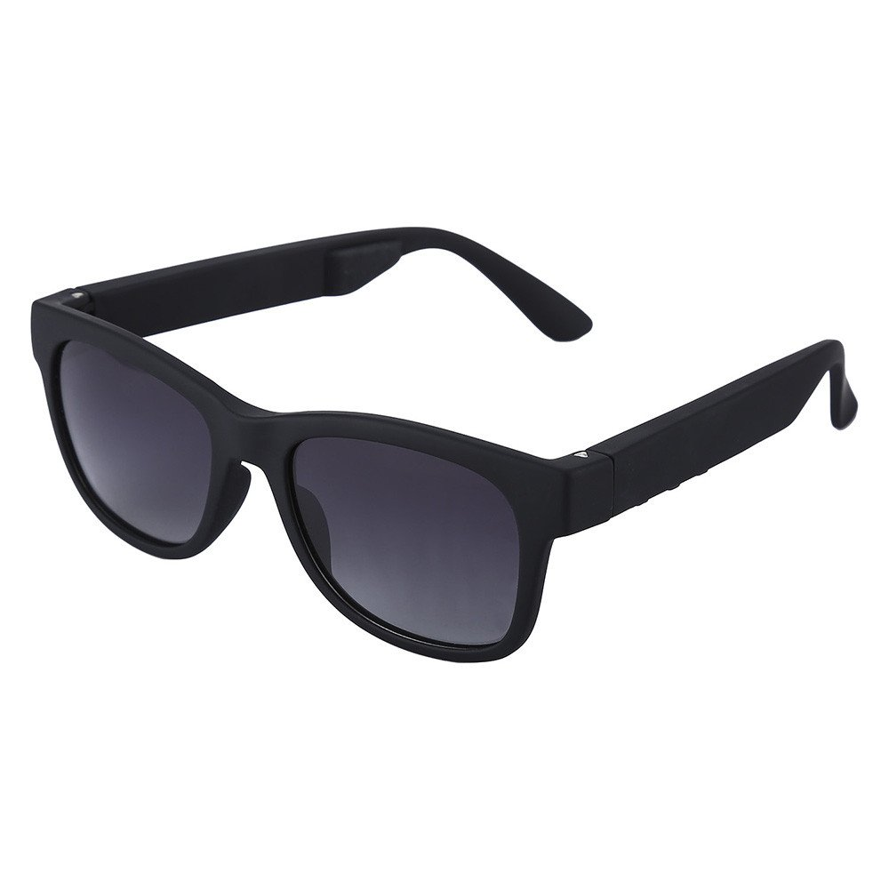 Bluetooth Bone Conduction Wireless Glasses Sport Stereo Music Headset Myopia Hand-Free With Gray Coating Lens