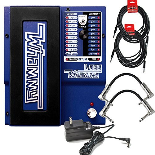 - Digitech Bass Whammy Effect Pedal with Power Supply and Cables