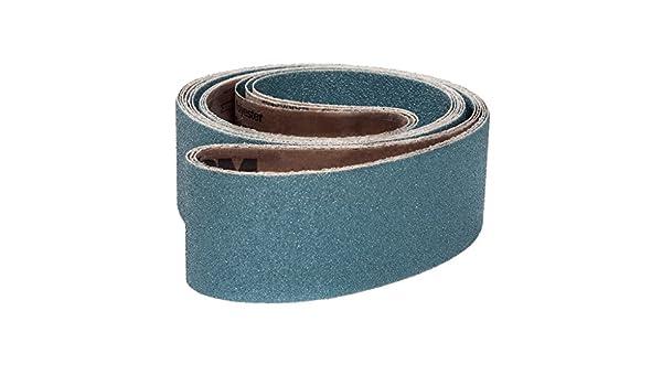 24 Length Bright Red Ceramic VSM 307817 Abrasive Belt 1//4 Width Pack of 20 100 Grit 1//4 Width 24 Length VSM Abrasives Co. Cloth Backing Medium Grade