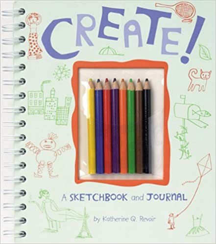 A Sketchbook and Journal Create!