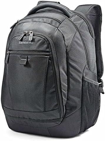 Samsonite Tectonic 2 Medium Backpack, Black, 16.9 x 12.2 x 8.2-Inch