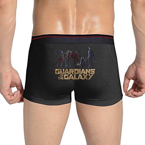 [KathyB Guardians Of The Galaxy Boxer Briefs For Men M Black] (Lone Ranger Costume Shirt)