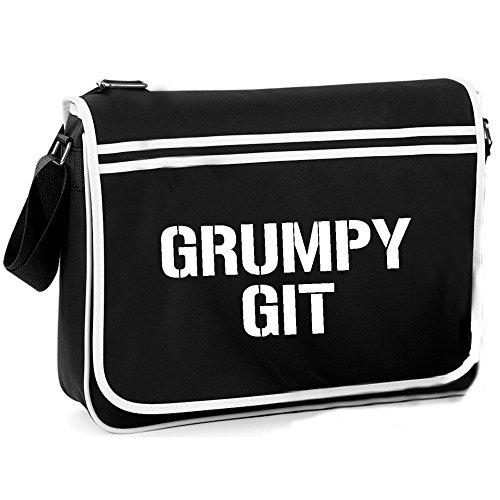 Grumpy Git - Retro Shoulder Bag