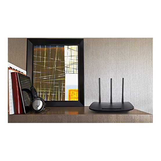 TP-Link N450 Wireless Wi-Fi Router, Up to 450Mbps, 3 External Antennas, IP QoS, WPS Button (TL-WR940N) 51o3NSlezaL. SS555
