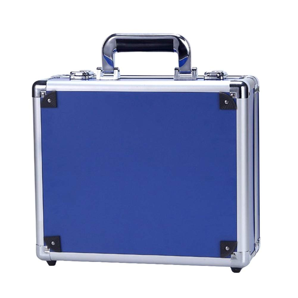 Starlit Aluminum Durable Storage Box Carrying Case Blue