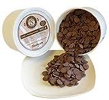 Chocoley Molding Chocolate - 5 Lbs - Bada Bing Bada Boom Candy & Molding Formula - 2 x 2.5 Lb Tubs of Dark, Milk, or White Chocolate (Milk Chocolate)