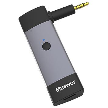 Muswor Receptor Bluetooth Adaptador inalámbrico para Bose QuietComfort 3 (QC3) Auriculares (No es Compatible con Ningún Otro): Amazon.es: Electrónica